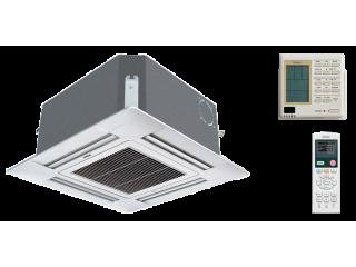 Сплит-системы кассетного типа четырёхпоточного воздуха.