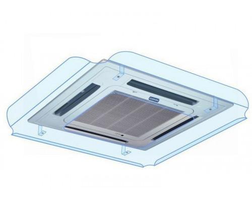 Экран-отражатель Sinbo 1000x1000 ПЭТ 2 мм прозрачный, крючки