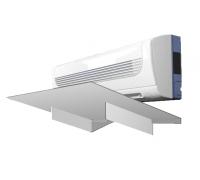 Экран-отражатель Sinbo 1000x370 ПВХ 3 мм белый